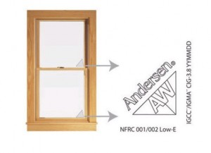 identifying andersen windows