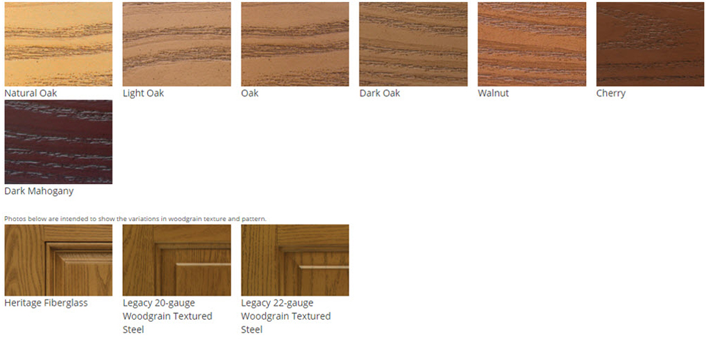 Heritage-door-stain-colors