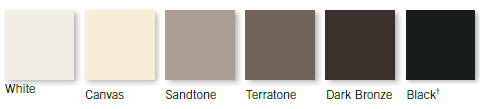 Narroline exterior colors