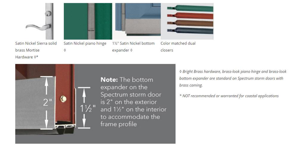 spectrum doors