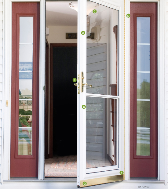 STORM DOOR CONSTRUCTION & Provia Decorator Storm Doors | Great Plains | Twin Cities MN