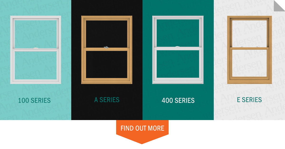What 39 s the difference between andersen windows series for Andersen 400 series double hung windows cost
