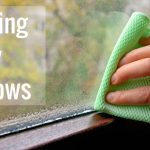 Cleaning Window Mold Off Glass, Sill, or Frame