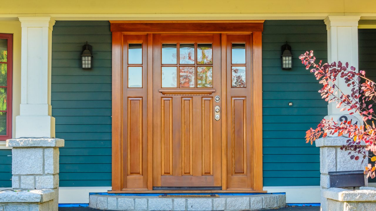 Which Entry Door Should You Choose Steel Or Fiberglass